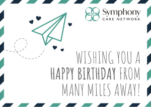 Happy Birthday From Miles Away!